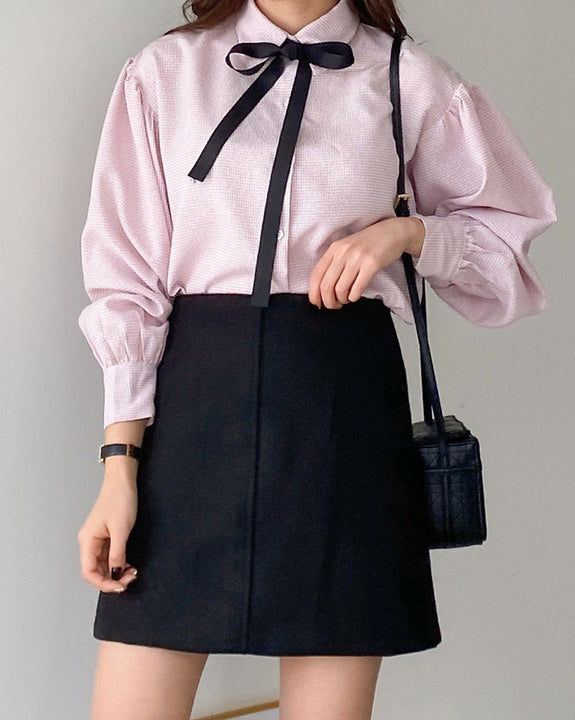 Bae Bae Ribbon Blouse (4520696119374)
