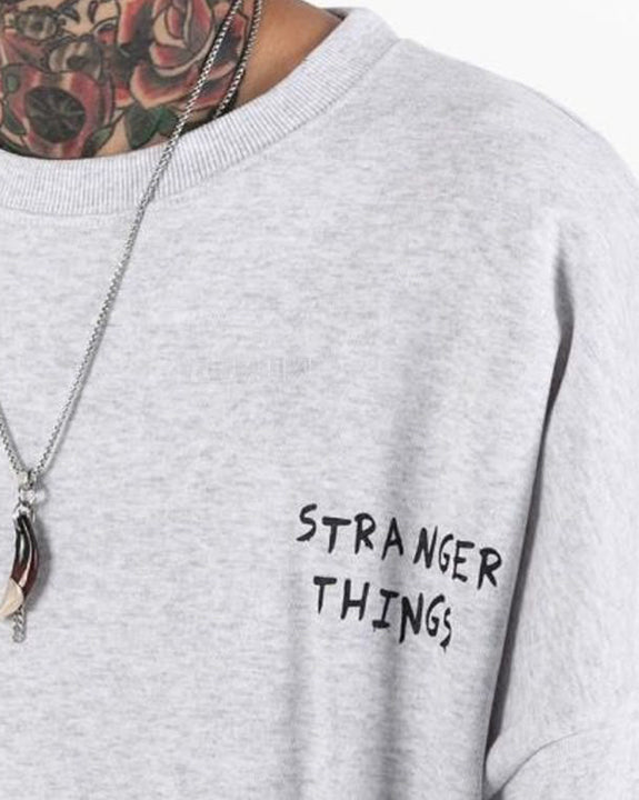 Strange Things Sweatshirt Top (4788457734222)
