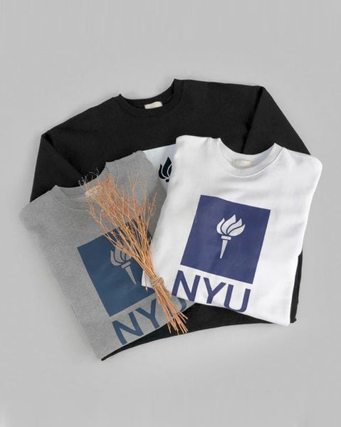 N.Y.U Sweatshirt Top (4796687712334)
