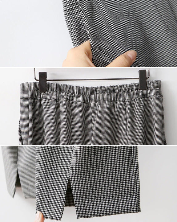 Vital Mini Check Slacks (4688321282126)