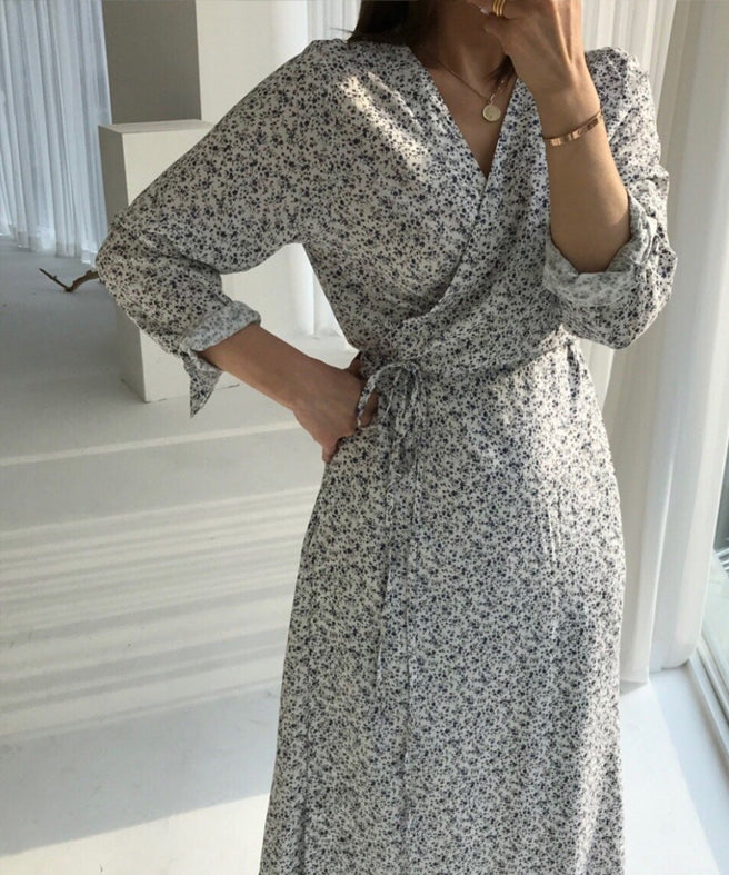 Miu Wrap Maxi Dress (4775407747150)