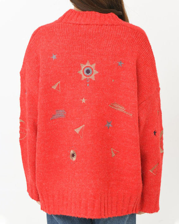 Star Space Cozy Cardigan (4744210972750)