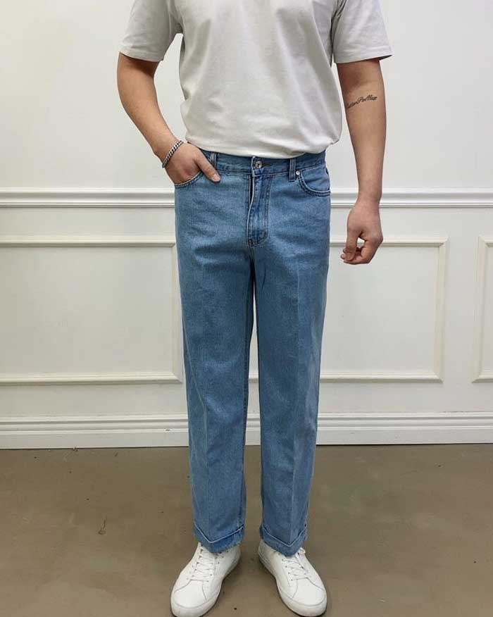 Comfi Span Denim Pants (6257858183340)