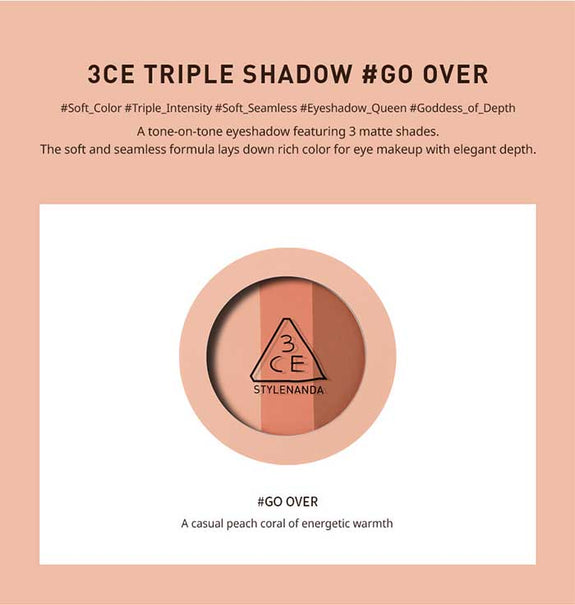 3CE TRIPLE SHADOW #GO OVER (6122677731500)