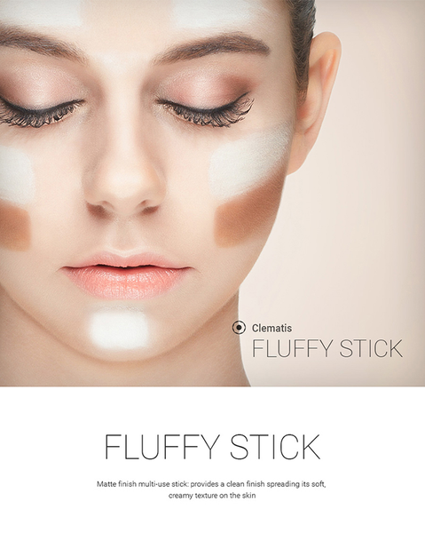 ★1+1 EVENT★ CLEMATIS Fluffy Stick 6 Colours (4823324360782)