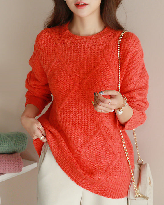 Adela Chunky Knit Top (4793331351630)