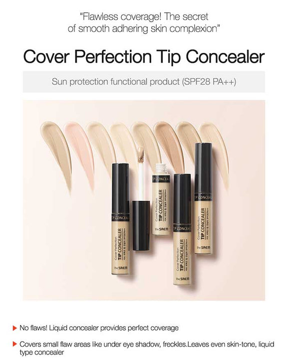 THE SAEM Cover Perfection Tip Concealer (6098067947692)
