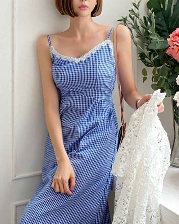 Bustier Long Dress (6114291712172)