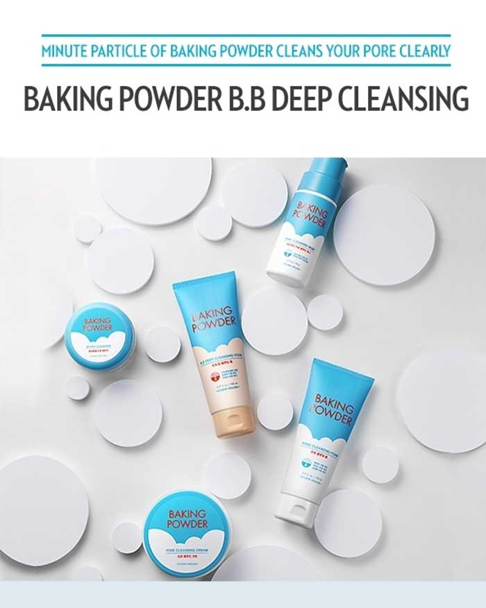 ETUDE Baking Powder B.B Deep Cleansing Foam (6095339946156)