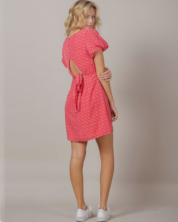 Lovers Back Point Dress (4453258461262)