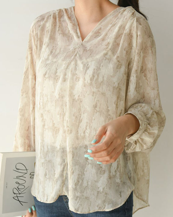 Lost In The City Blouse (4590821408846)