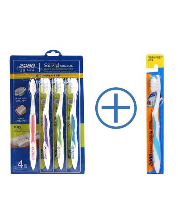 AEKYUNG 2080 Original toothbrush 1set + 1 (6077667475628)