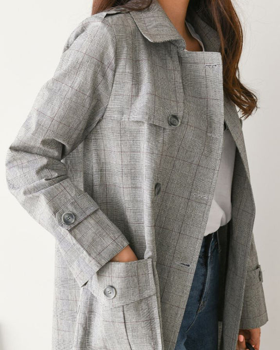 Romantic Charles Check Jacket (4617958752334)
