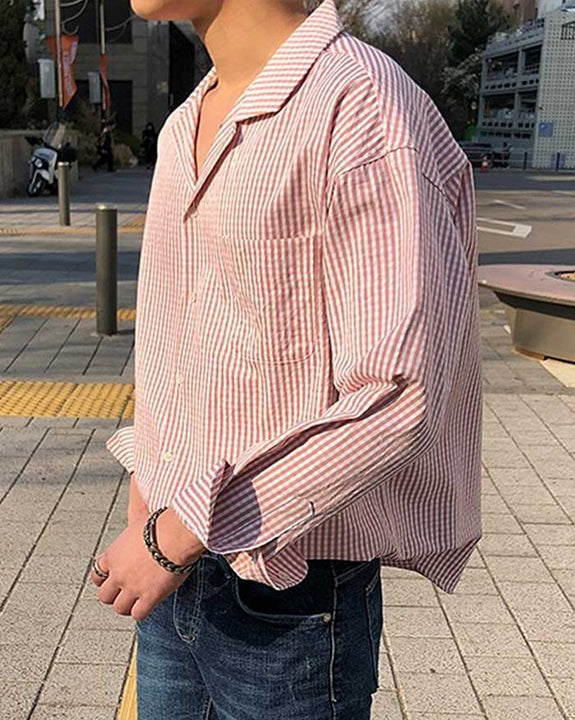 Plain Check Shirt (6179492626604)