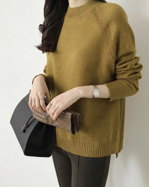 Moody Thursday Knit Top (4688281043022)