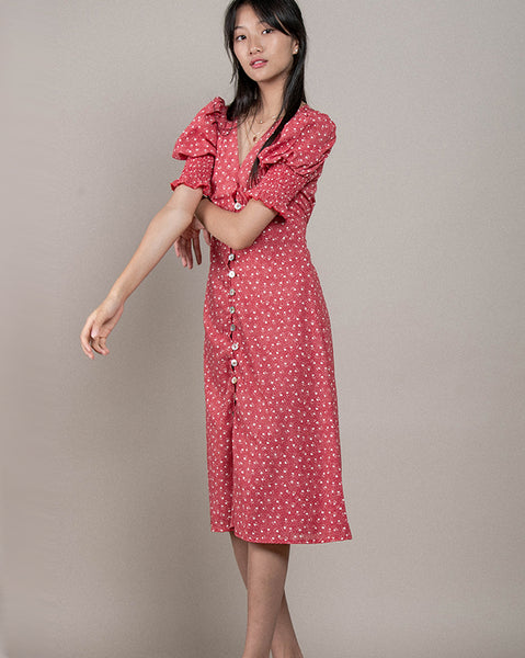 Paris Story Midi Dress (4557906640974)