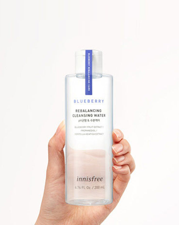 INNISFREE Blueberry Rebalancing Cleansing Water (200ml) (4817920032846)