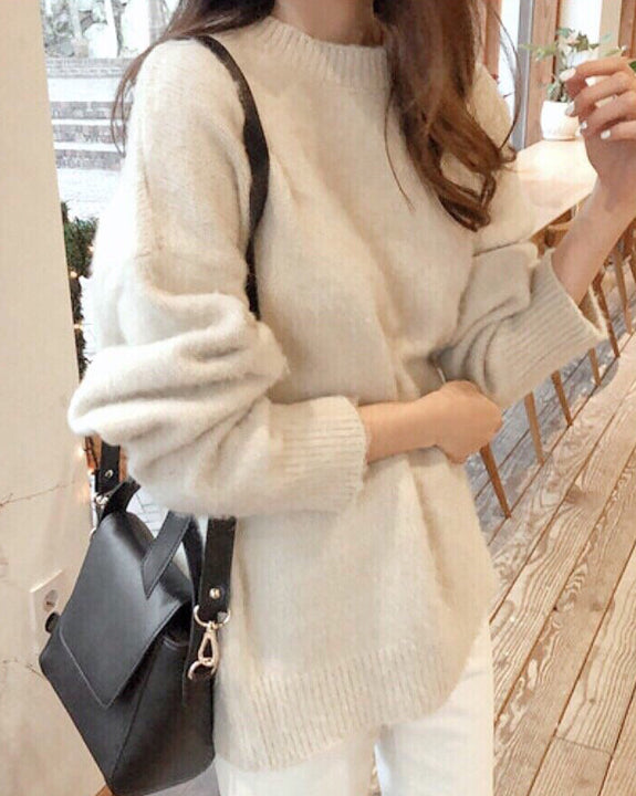 Glow Cashmere Knit Top (4705074839630)