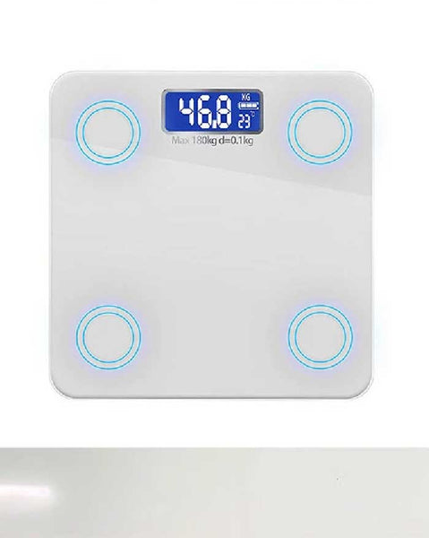 180kgGlass Digital Bathroom Scales (4864611090510)