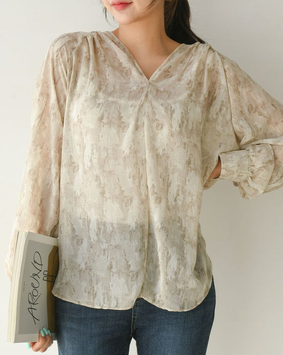 Lost In The City Blouse