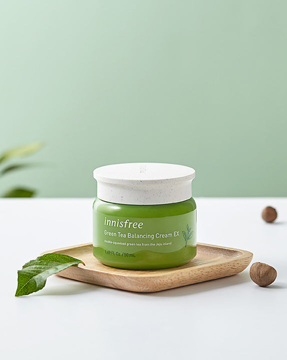 INNISFREE Green Tea Balancing Cream EX (50ml) (4817411080270)