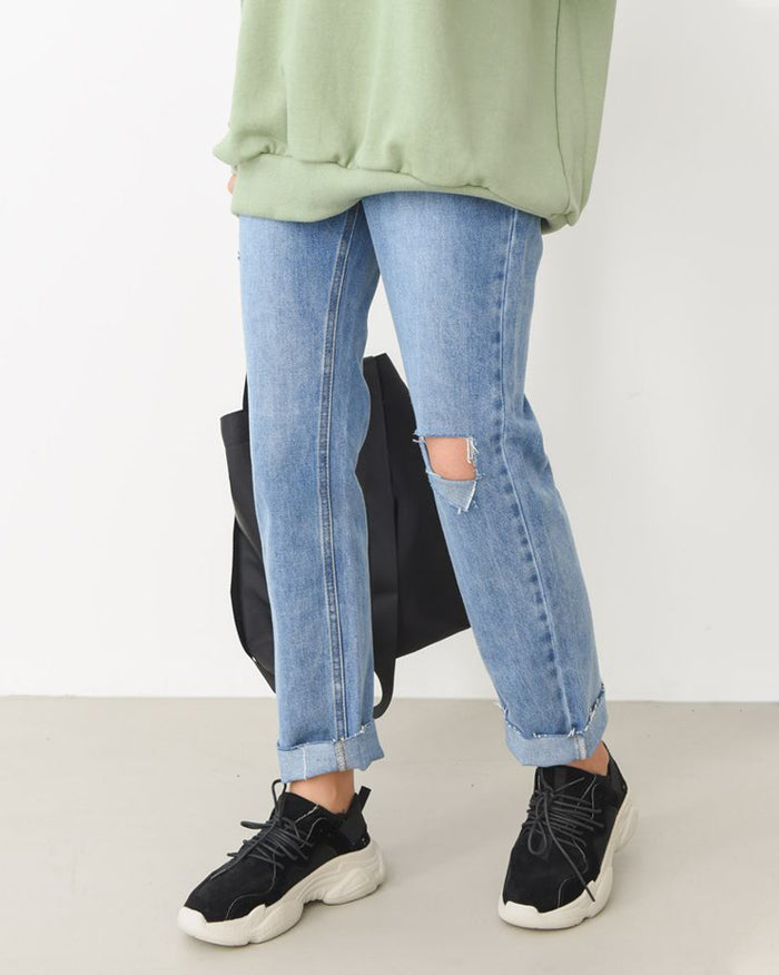 Hissy 90s Straight Legs Jeans (4864816513102)