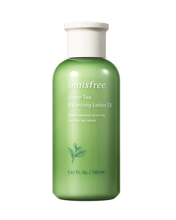 INNISFREE Green Tea Balancing Lotion EX (160ml) (4817405444174)