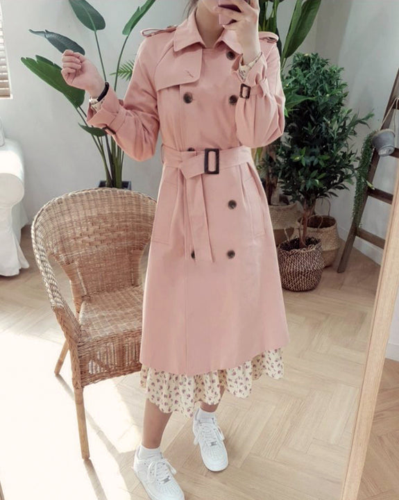 Babylon Cotton Trench Coat (4841306161230)