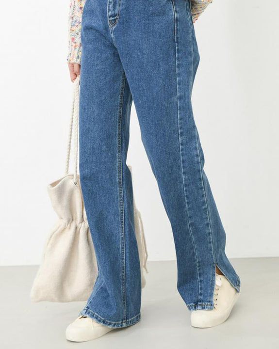 High-Waisted Double Lined Jeans (4415237521486)