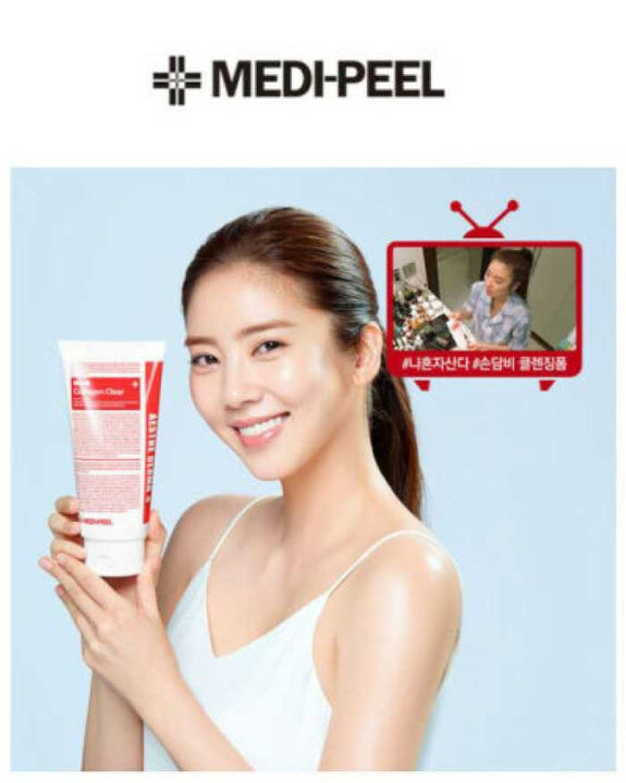 Medi-Peel Aesthe Derma Lacto Collagen Clear 300ml Cleansing Foam (6174560223404)