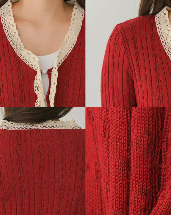 Piccolo Cropped Knit Cardigan (4840743567438)