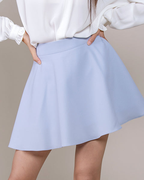 Cream Skirt Pants (4558326202446)