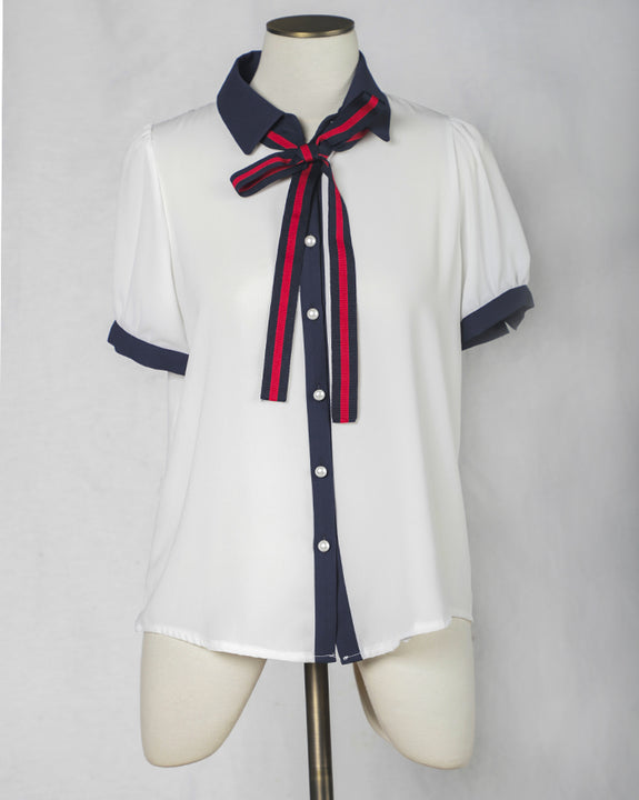 Gucci Tape Blouse (4399218917454)