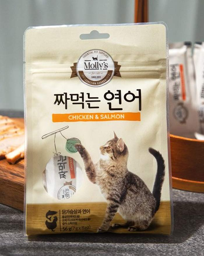 [Molly] Easily squeezed salted salmon 7g*8ea (6551112810668)