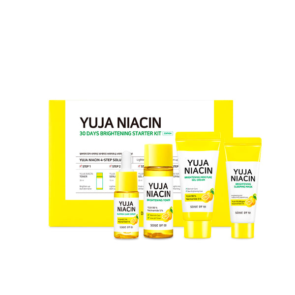 Yuja Niacin 30 Days Brightening Starter Kit - SOME BY MI