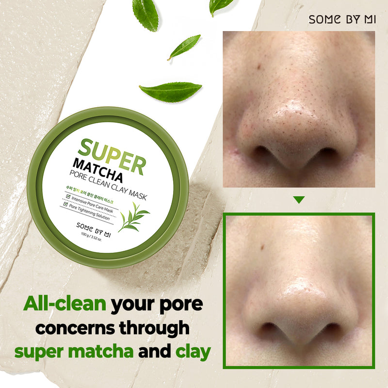 Super Matcha Pore Clean Clay Mask - SOME BY MI