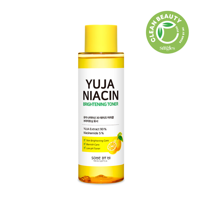 Yuja Niacin 30 Days Miracle Brightening Toner - SOME BY MI
