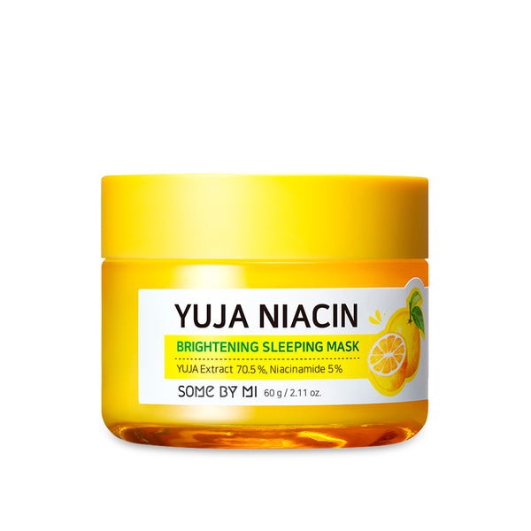 Yuja Niacin 30 Days Miracle Brightening Sleeping Mask [Moisturizer] - SOME BY MI