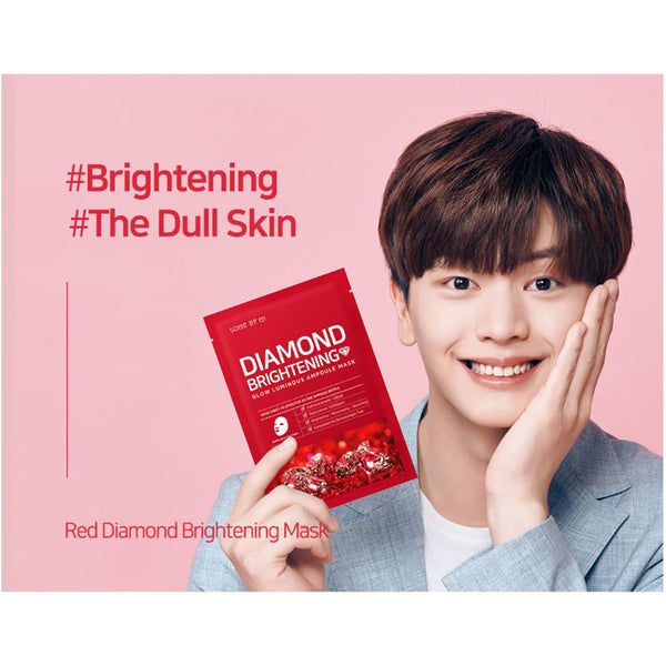 Glow Luminous Ampoule Mask - Red Diamond - SOME BY MI