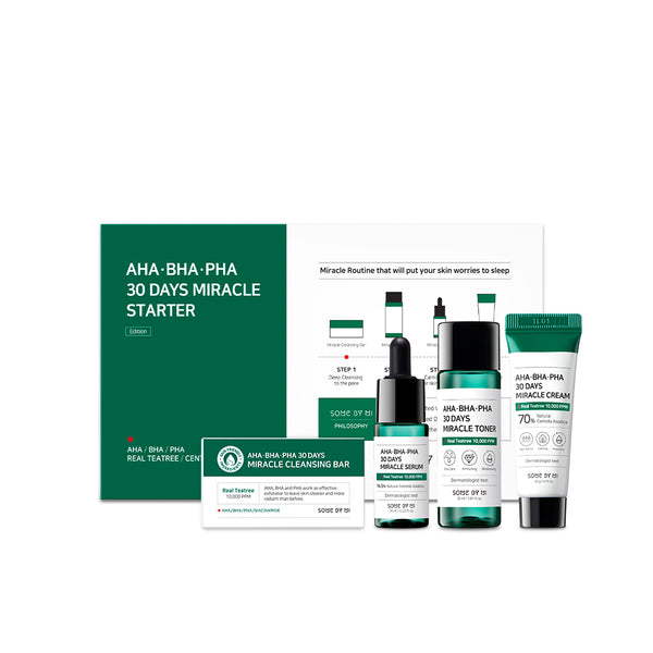 AHA-BHA-PHA 30Days Miracle Starter Kit - SOME BY MI