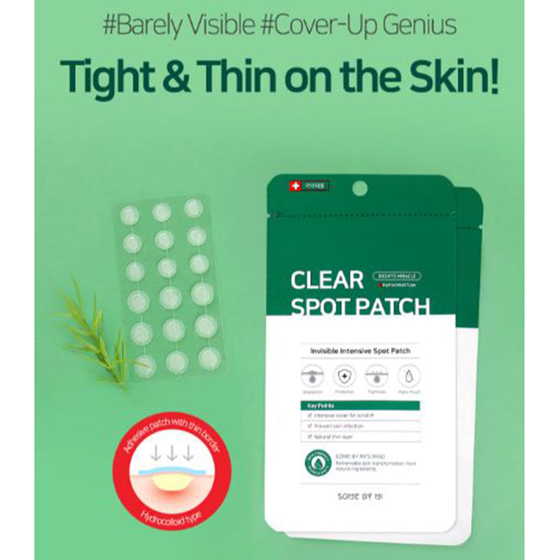 30 Days Miracle Acne Clear Spot Patch - SOME BY MI