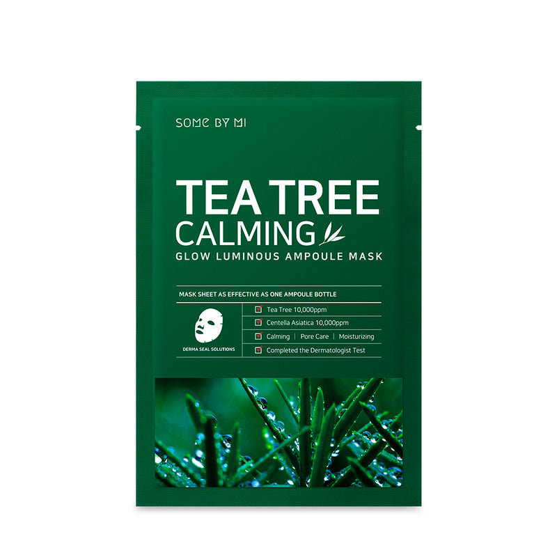 [BUY 5 GET 5] Tea Tree Calming Ampoule Mask * 10EA - SOME BY MI