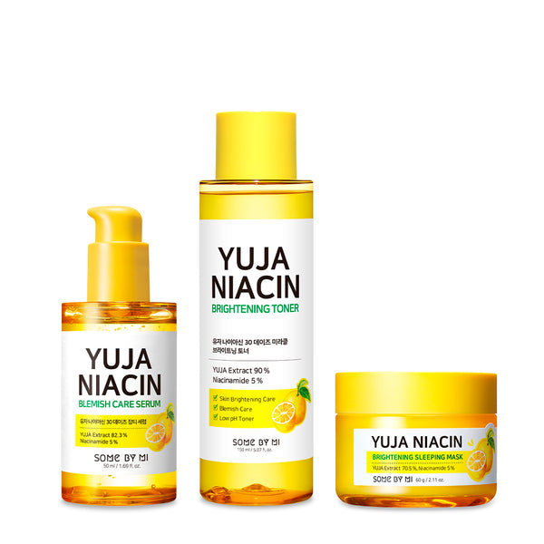 [SOME BY MI]  Yuja Brightening Basic Set - SOME BY MI