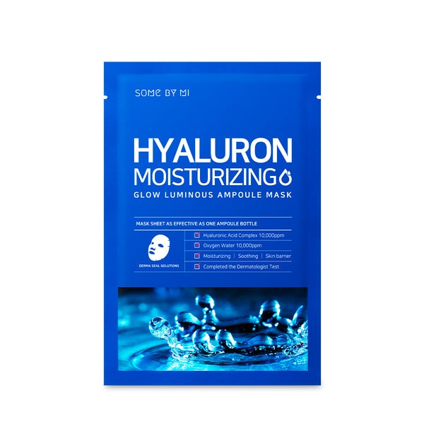 [BUY 5 GIFT 5] Hyaluron Moisturizing Ampoule Mask * 10EA - SOME BY MI