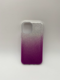 iPhone 11 2 Colour Glittery Back Case