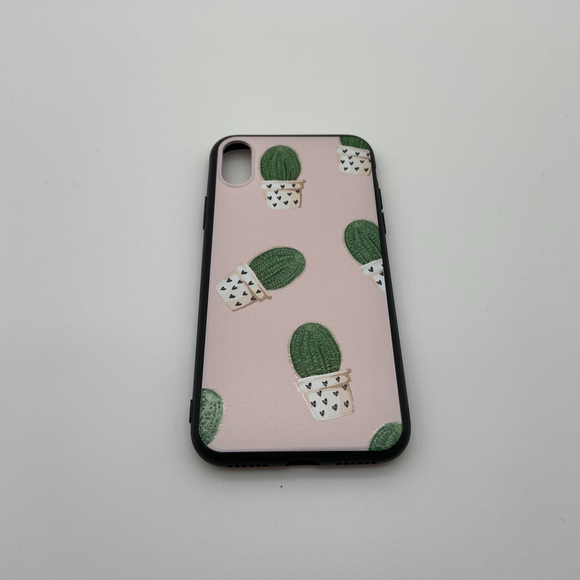 iPhone X Pink Cactus