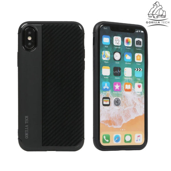 Armor carbon shell dark blue Gorilla Tech for Apple iPhone X / XS