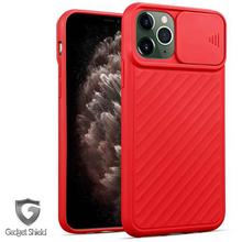 Load image into Gallery viewer, Red Gadget Shield camera window gel case for Apple iPhone 11 Pro Max