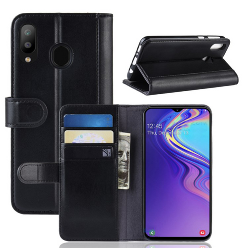 Black wallet case for Samsung Galaxy Note 10 Plus