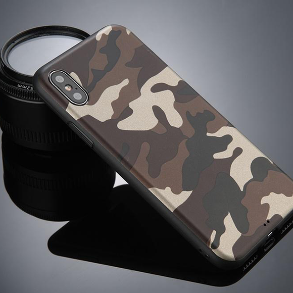 Gadget Shield Army Gel Case for Apple iPhone XS MAX